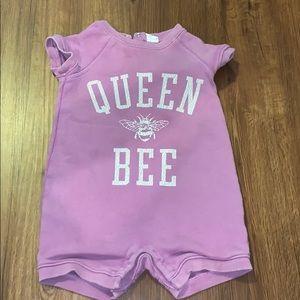 Queen bee baby gap romper!!!!
